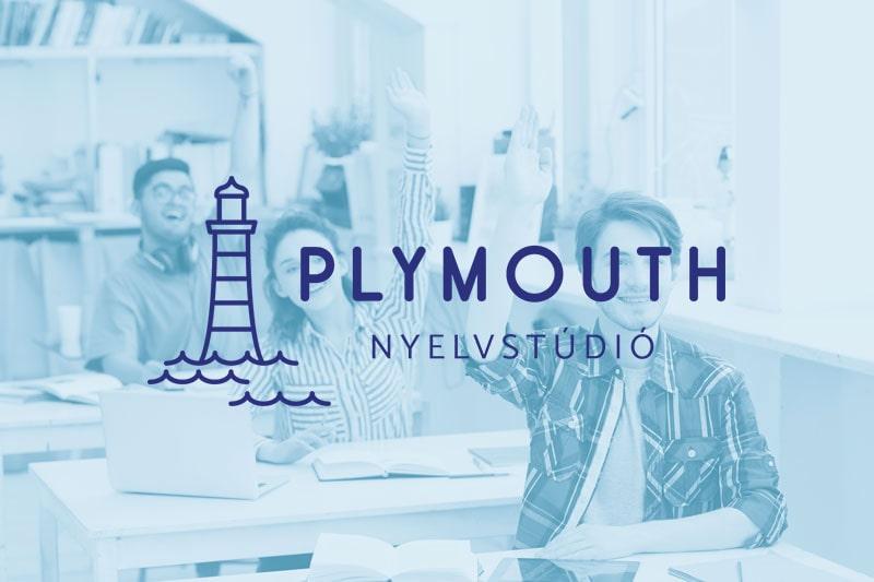 Plymouth Nyelvstúdió logó
